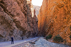 Le Maroc, gorges. photographie stock libre de droits