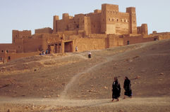 Le Maroc ksar Photos libres de droits