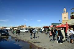 Le Maroc, Marrakech Image stock