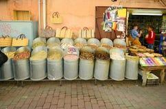Le Maroc, Marrakech Image libre de droits