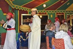 Le Maroc, Marrakech Photos libres de droits