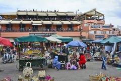 Le Maroc, Marrakech Images libres de droits