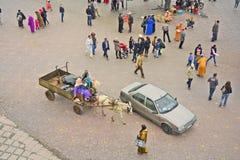 Le Maroc, Marrakech Photos stock