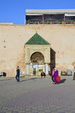 Le Maroc, Meknes Image libre de droits