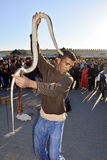 Le Maroc, Meknes Photographie stock