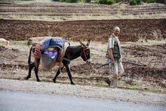 Le Maroc, mode de transport Photographie stock