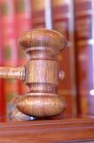 Le marteau du juge Photographie stock libre de droits
