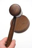 Le marteau du juge photos stock