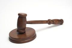 Le marteau du juge photo stock