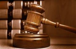 Le marteau du juge Image stock