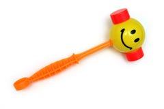 Le marteau heureux de l'enfant Photo libre de droits