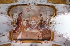 Le martyre de St Béatrix images stock
