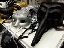 Le maschere del carnevale Immagini Stock