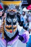 Le masque de fantôme de Phi Ta Khon Festival Photographie stock libre de droits