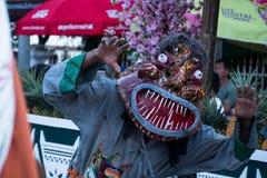 Le masque de fantôme de Phi Ta Khon Festival Image stock
