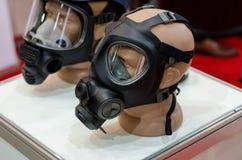 Le masque de gaz photographie stock