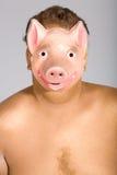 Le masque de porc Photographie stock