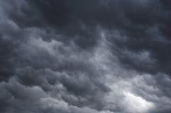 Le masse delle nubi fotografia stock