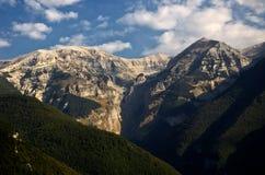 Le massif de Majella Photographie stock