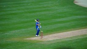 Le match de 2015 Tout-étoiles de cricket à New York Images libres de droits