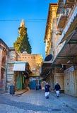 Le matin à Jérusalem image stock