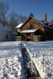 Le matin après la première neige Images stock
