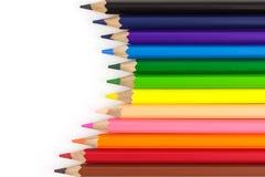 Le matite di colore Fotografie Stock Libere da Diritti