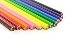 Le matite di colore Fotografia Stock