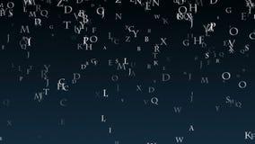 Le matrici del fondo delle lettere Matrice dell'alfabeto inglese royalty illustrazione gratis