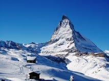 Le Matterhorn Image libre de droits