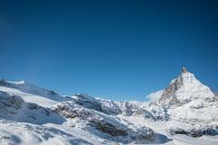 Le Matterhorn Photo stock
