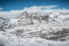 Le Matterhorn Images libres de droits