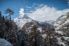 Le Matterhorn Image stock