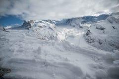 Le Matterhorn Photo libre de droits