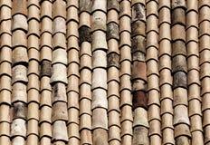 Le mattonelle classiche dei tetti del noto, Sicilia Immagine Stock