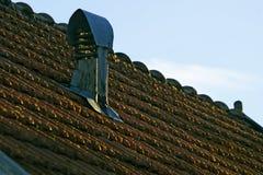 Le mattonelle di tetto Fotografia Stock