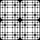 Le mattonelle geometriche con i quadrati arrotondati Vector il modello senza cuciture royalty illustrazione gratis