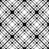 Le mattonelle geometriche con i rombi arrotondati Vector il modello senza cuciture royalty illustrazione gratis