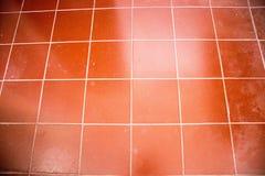 Le mattonelle rosse mattone per fondo, carminio piastrellano gli estratti fotografie stock libere da diritti