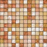 Le mattonelle sono un mosaico Fotografie Stock