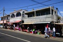 Le Mauritius, villaggio pittoresco di Goodlands fotografia stock libera da diritti