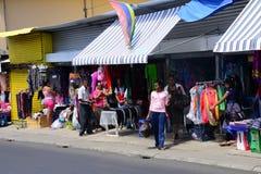 Le Mauritius, villaggio pittoresco di Goodlands fotografie stock