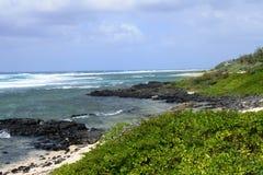 Le Mauritius, villaggio pittoresco di Roches Noires Fotografie Stock