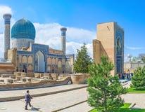 Le mausolée d'Amir Temur Image stock