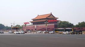 Le mausolée de Mao Zedong Pékin, Chine Photo libre de droits