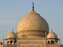 Le mausolée Taj Mahal est situé à Agra, Inde Images libres de droits