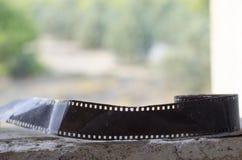 Le mauvais d'état de boîte métallique de film Photo libre de droits