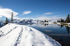 Le mauvais Hofgaststein de lac austria Image stock