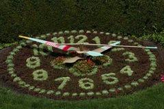 Le mauvais suisse Ragaz d'horloge de jardin Photo libre de droits