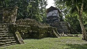 Le Maya ruine l'île du topoxte Photos libres de droits